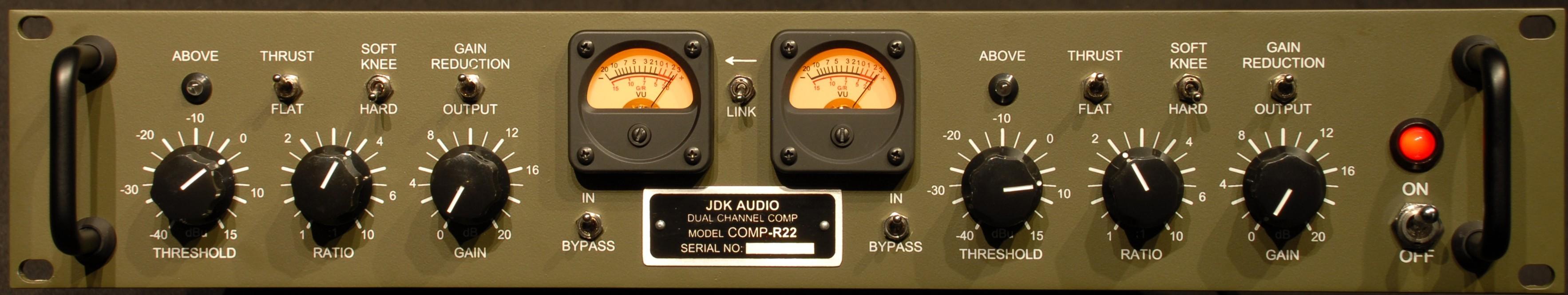 JDK Audio R22 - 2 Channel Compressor