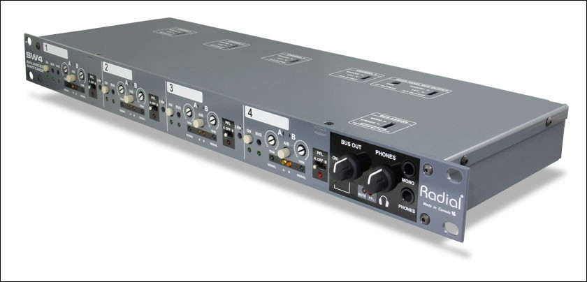 Radial SW4  Audio Switcher