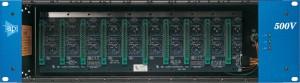 API 500VPR 10 slot Rack mit Netzteil