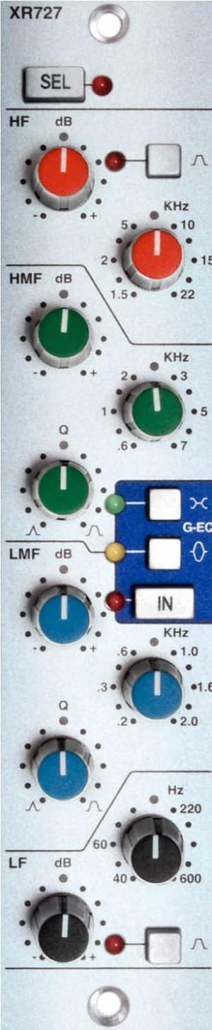 SSL XR727 Stereo EQ