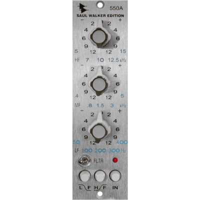 API 550A EQ Saul Walker Edition