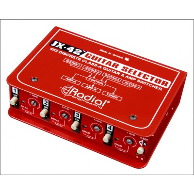 Radial JX42 Guitar Selector